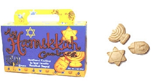 Chanukah Cookies (3 Boxes)