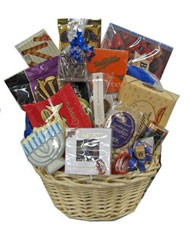 Hanukkah Large Basket