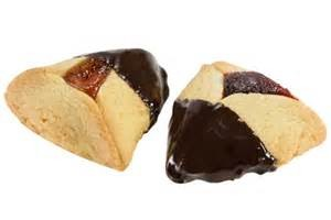 Chocolate Dipped Hamentashen