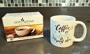 Mug and Coffee Set