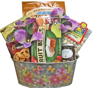 Flower Petals Basket