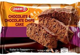 Osem Kosher for Passover Chocolate and Chocolate Chip Cake