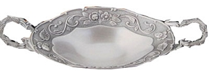Silver Plated Candy Dish