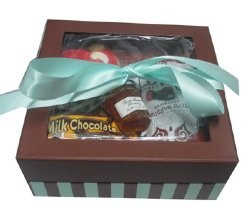 Rosh Hashana Striped Gift Box