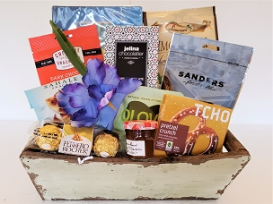 Shiva Condolence Thoughts Basket