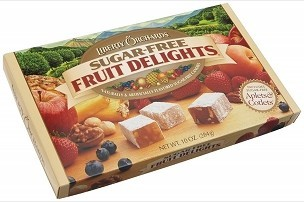 Liberty Orchards Fruit Delights, Sugar-Free, 10-Ounce Box