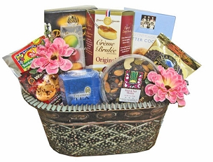 Warm Thoughts Basket