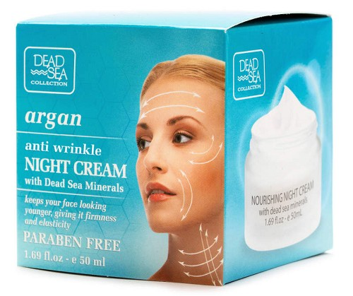 Dead sea Collection Anti Wrinkle Night Cream